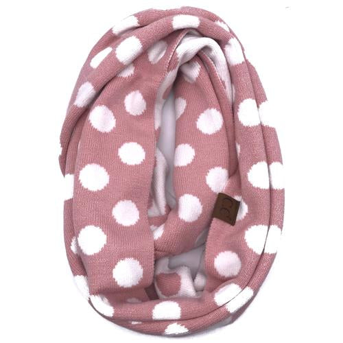 PD-INF-21 SCARF INDI PINK/WHITE