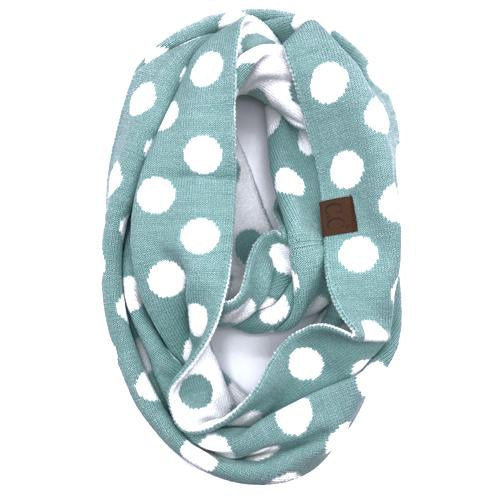 PD-INF-21 SCARF MINT/WHITE
