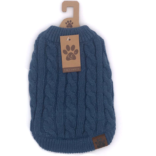 C.C Pet Sweaters Pet-4 Dark Denim
