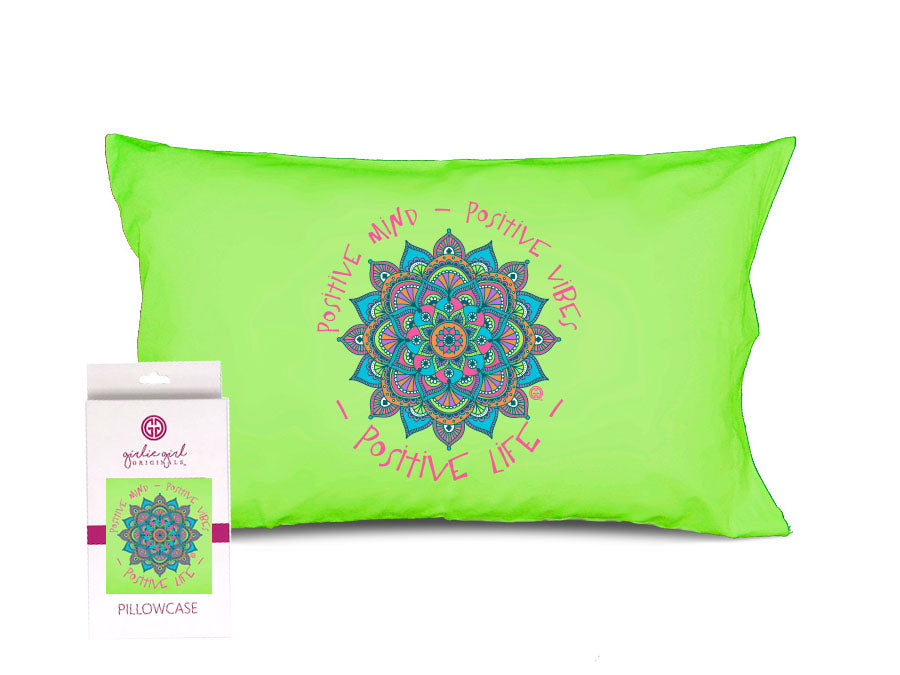 PC-Positive Vibes Pillowcase