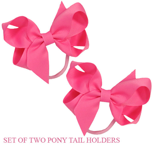 PONY TAIL HOLDERS - BUBBLEGUM