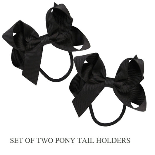 PONY TAIL HOLDERS - CHOCOLATE