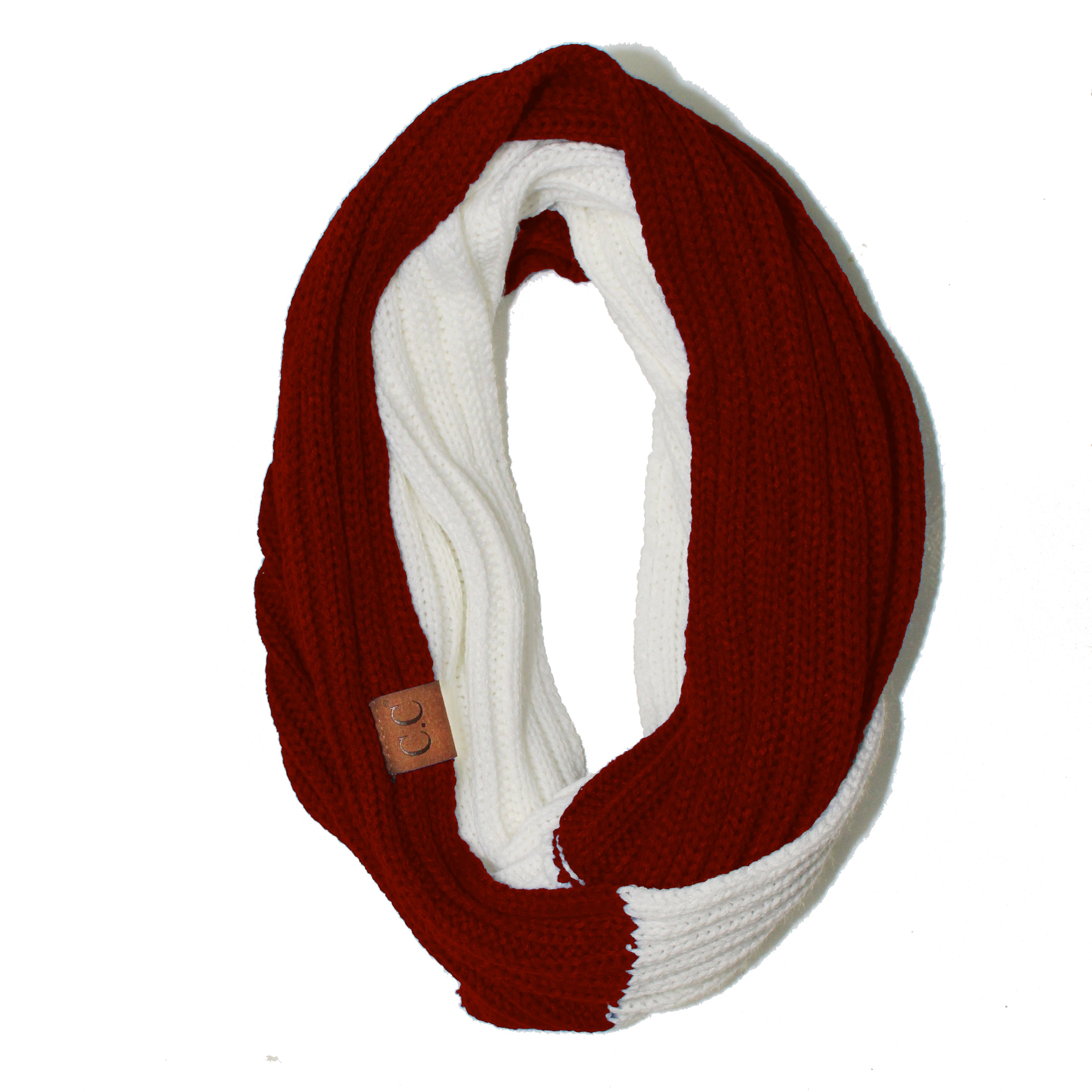 SF-56 Red and White Team Infinty Scarf