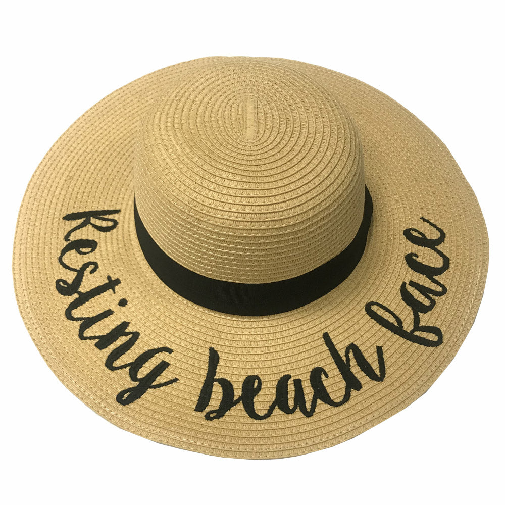 ST-2017 Resting Beach Face Beach Hat