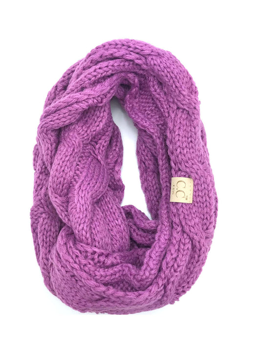 SF800KIDS-NEW LAVENDER INFINITY SCARF