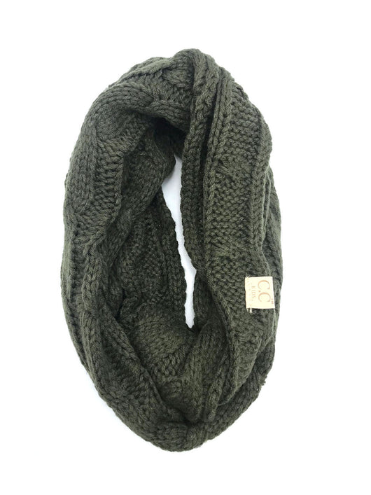 SF800KIDS-NEW OLIVE INFINITY SCARF