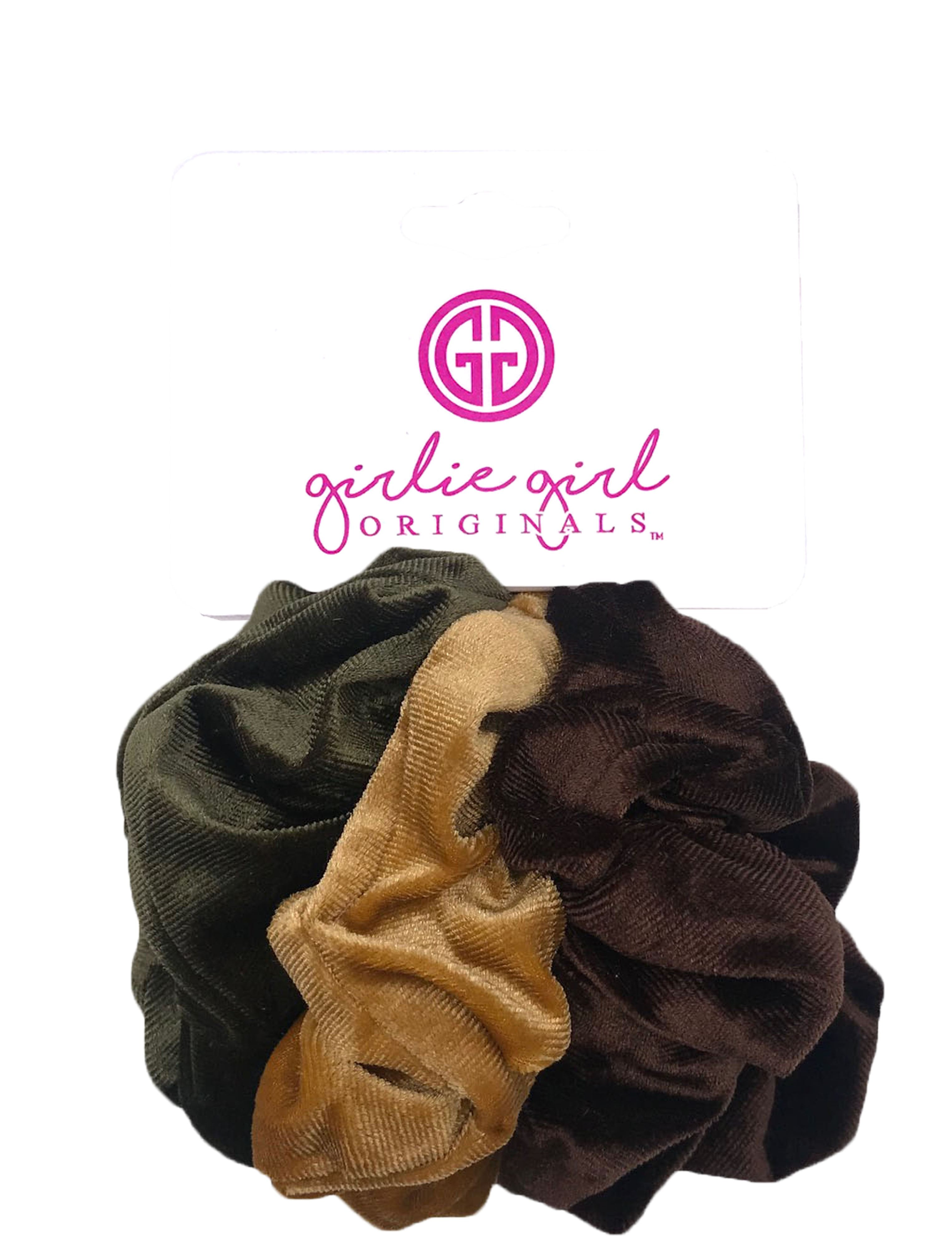 SCR-38 VEL Assorted Scrunchies