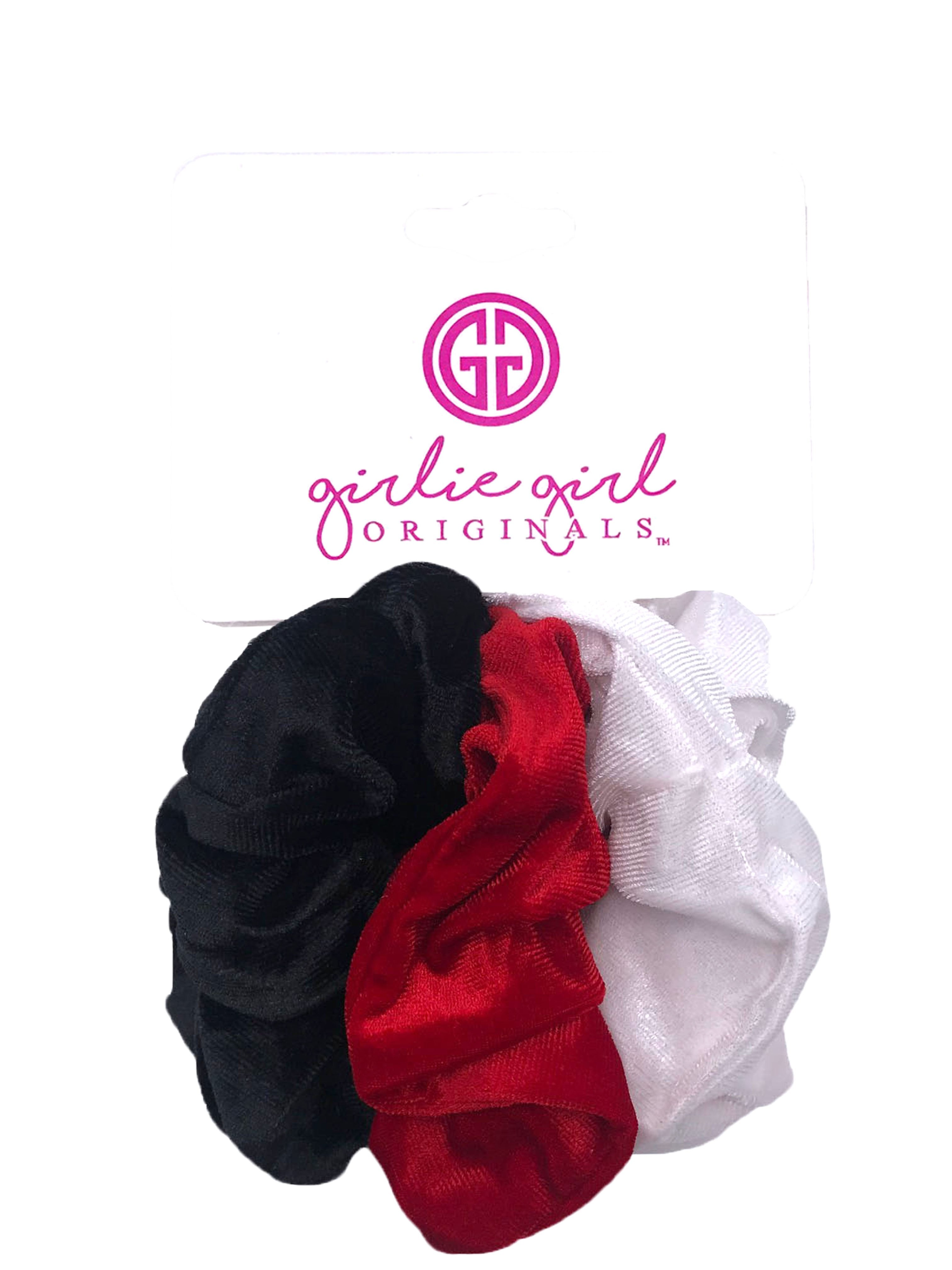 SCR-37 Vel Assorted Scrunchies