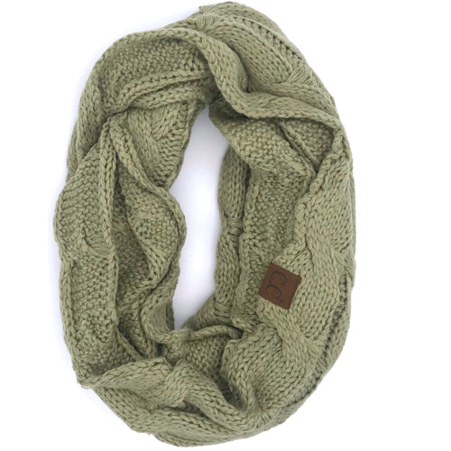 SF800-NEW SAGE Infinity Scarf