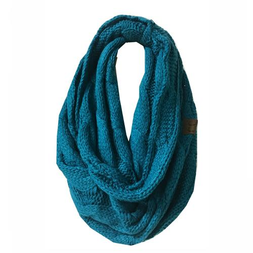SF-800 TEAL Infinity Scarf