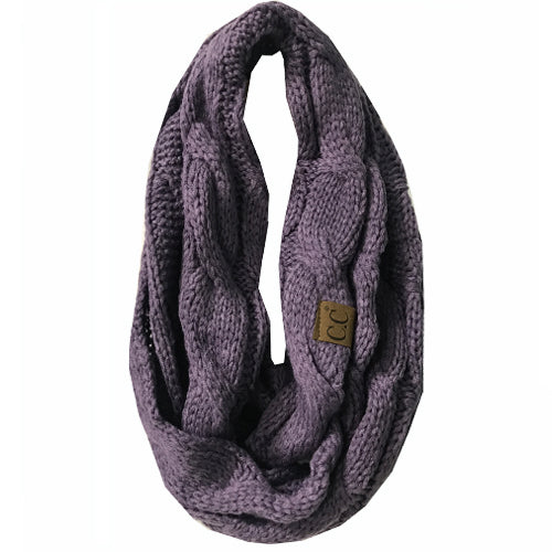 SF800-VIOLET Infinity Scarf