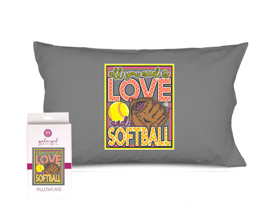 PC-Love Softball Pillowcase
