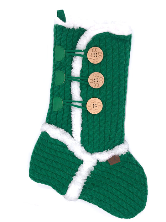 CC-Sherpa Stocking Green