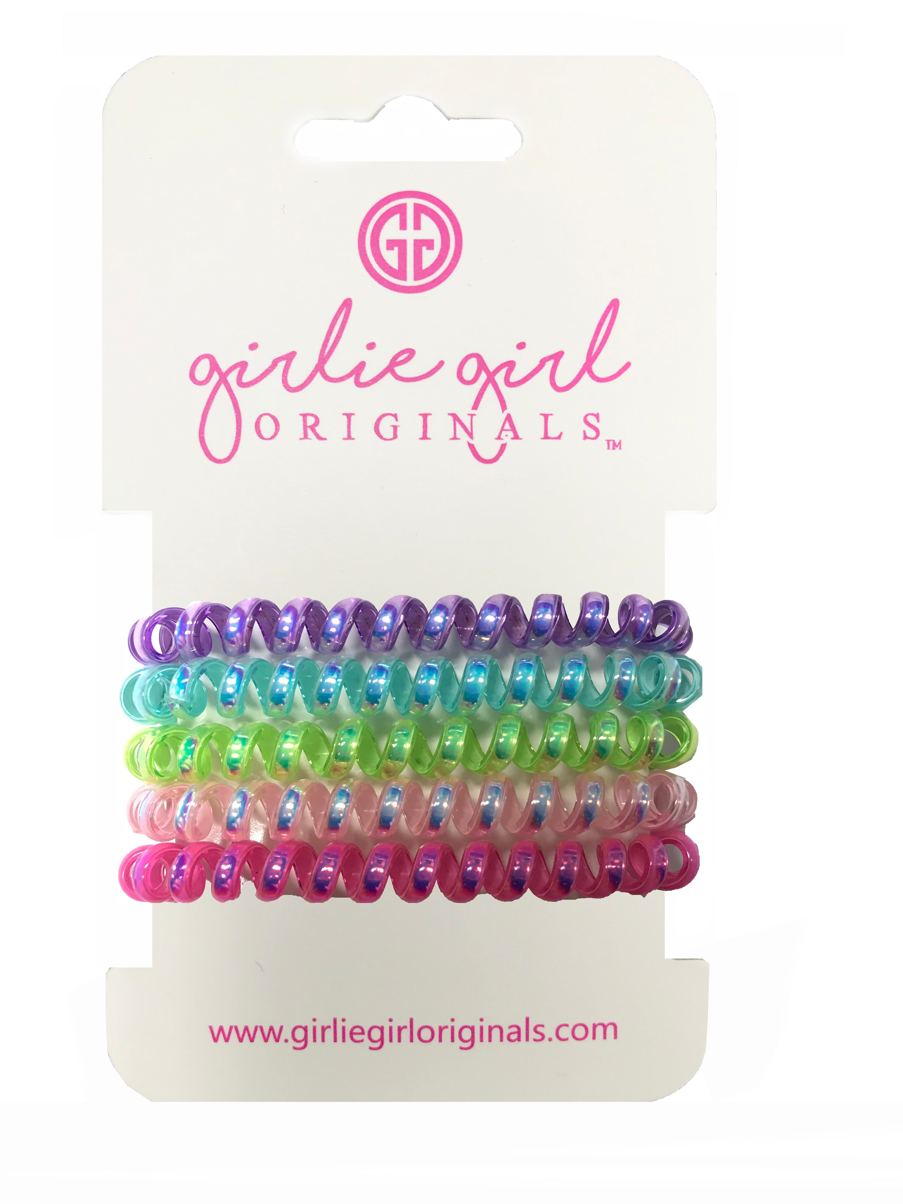 TC-IR 5 Telephone Cord Hair Ties