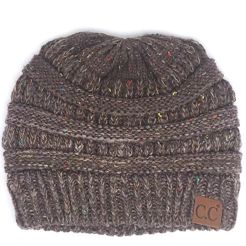 YJ-817 Ombre Brown Beanie
