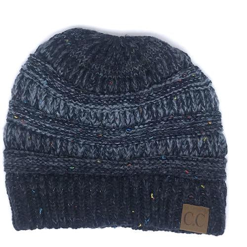 YJ-817 Ombre Navy Blue Beanie