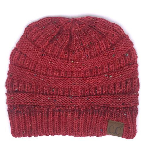 YJ-817 Ombre Red Beanie