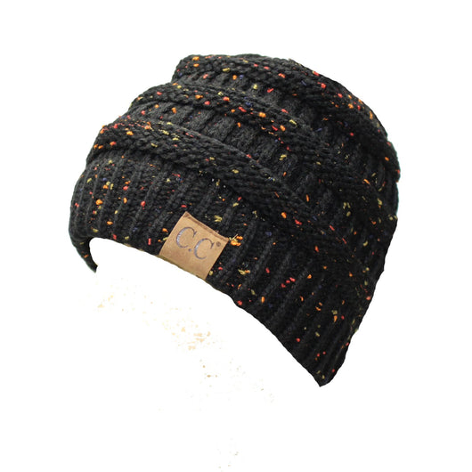HAT33-Speckled Black