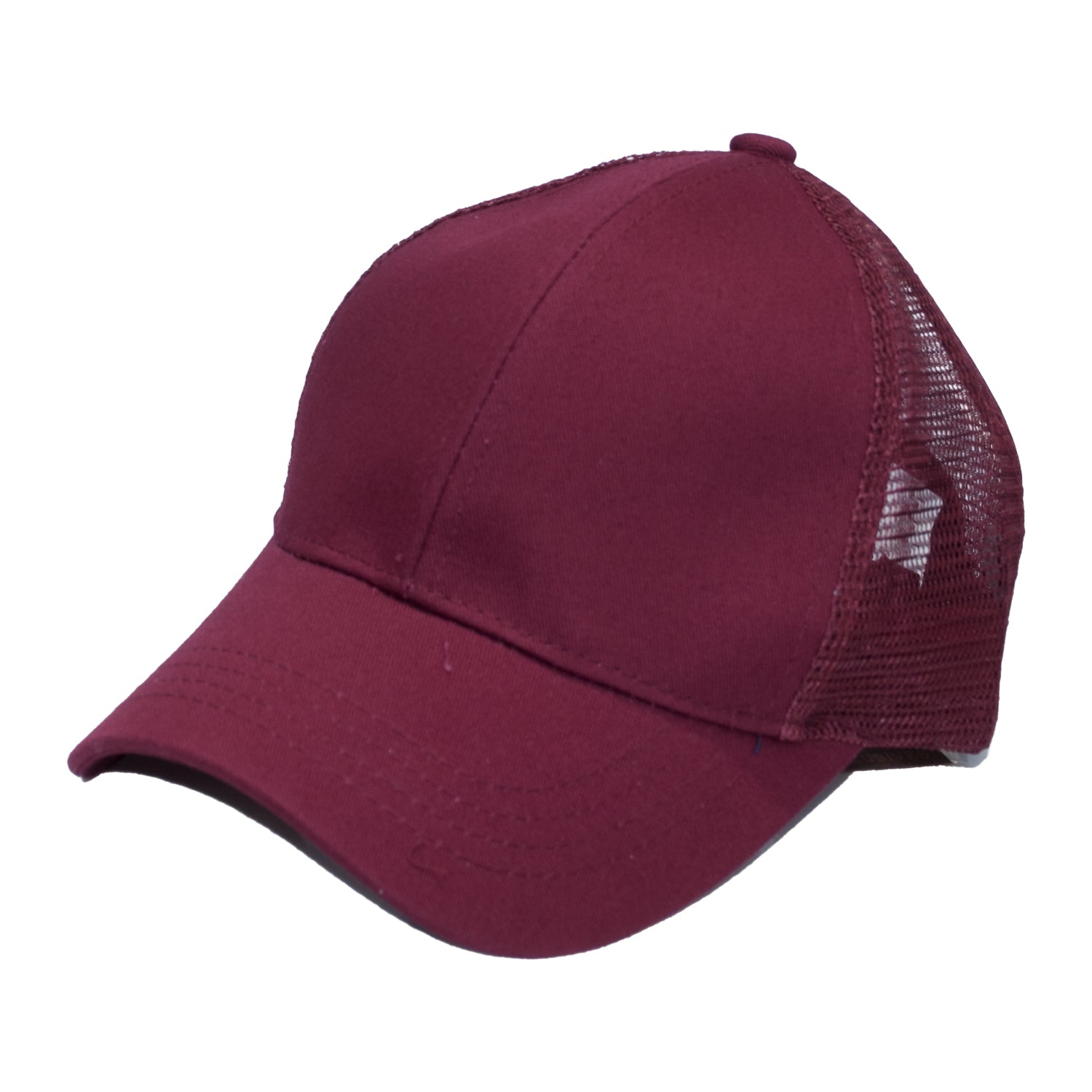 B-4 C.C Pony Caps Burgundy