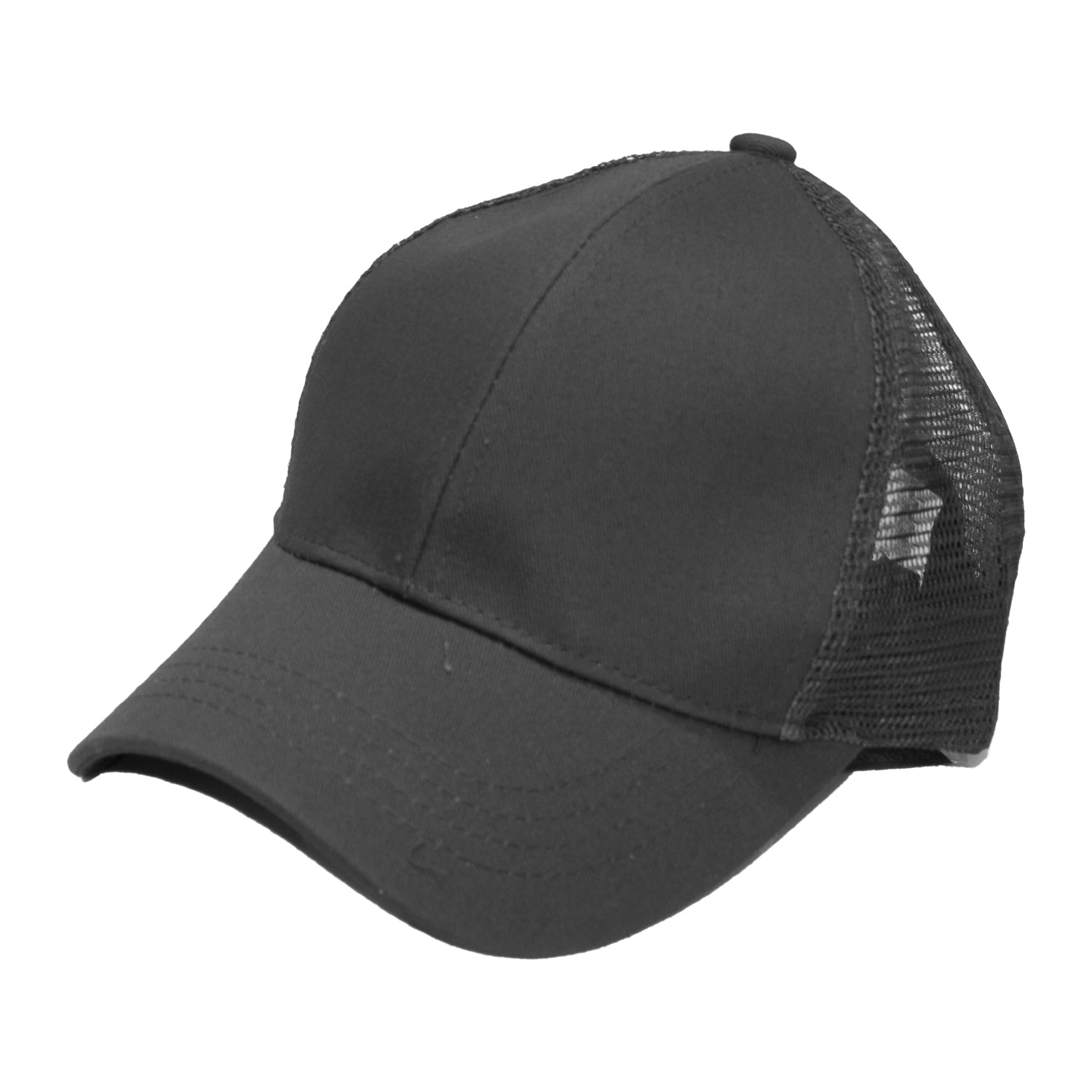 B-4 C.C Pony Caps Charcoal Grey