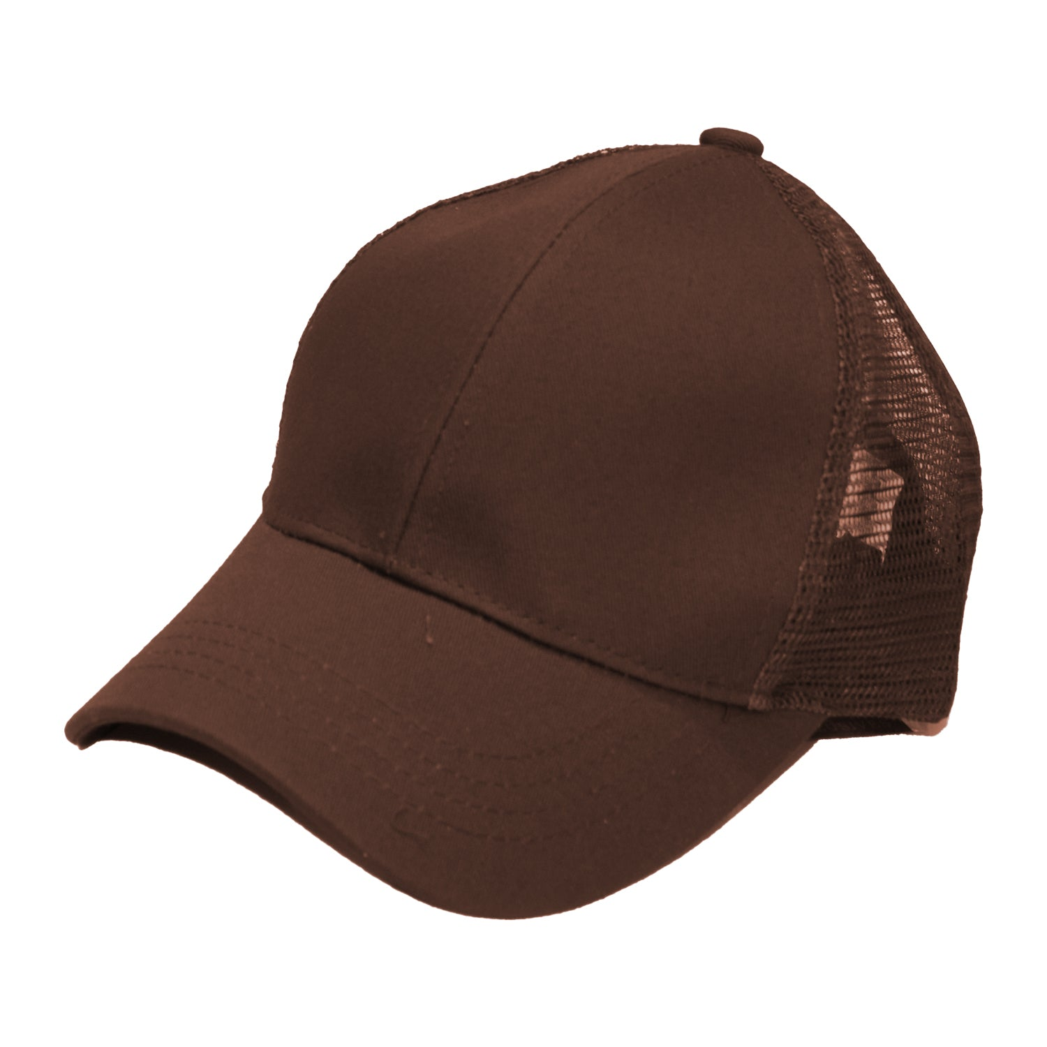 B-4 C.C Pony Caps Chocolate