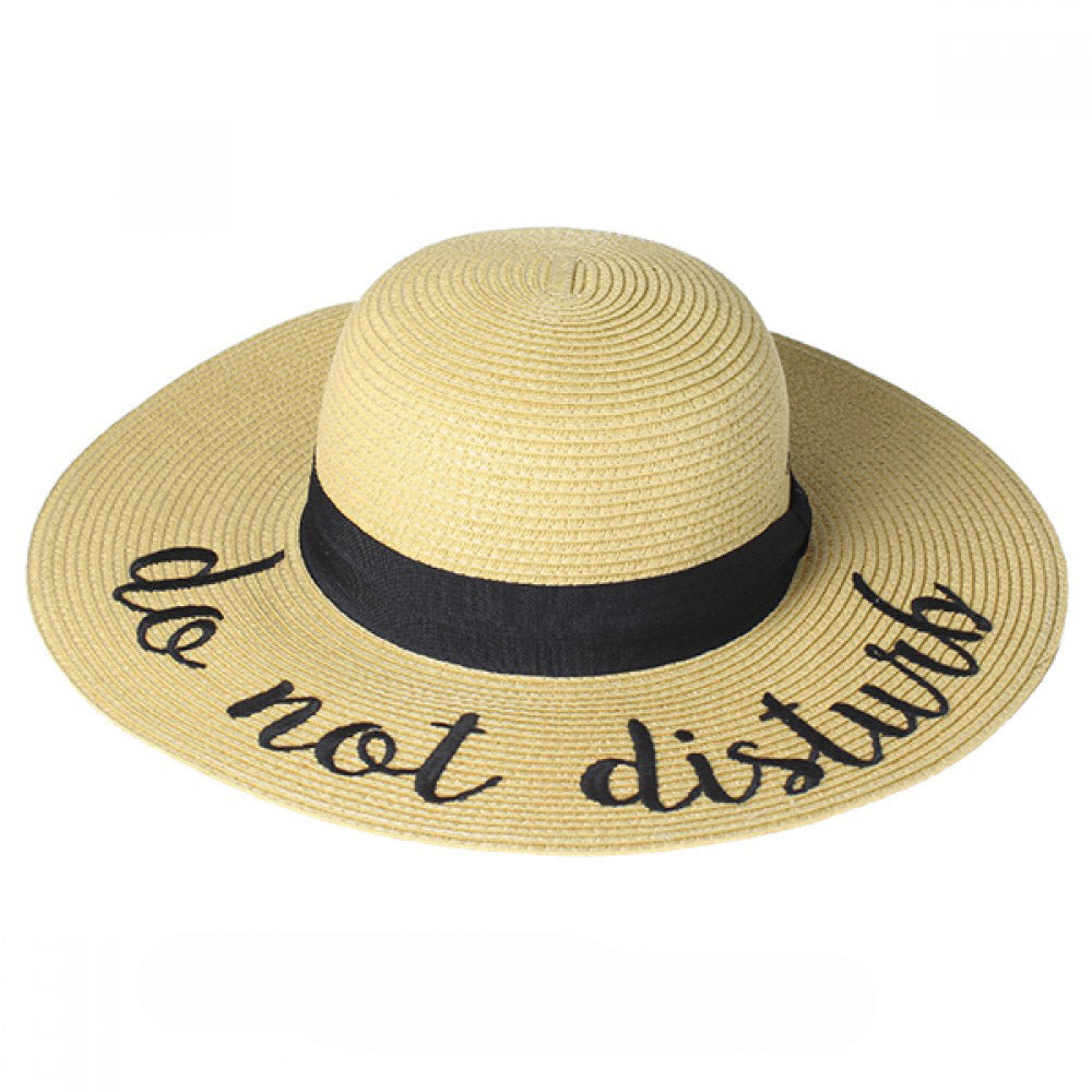 ST-2017 Do Not Disturb Beach Hat