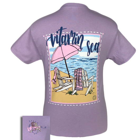 LP-Vitamin Sea Orchid Short Sleeve T-Shirt