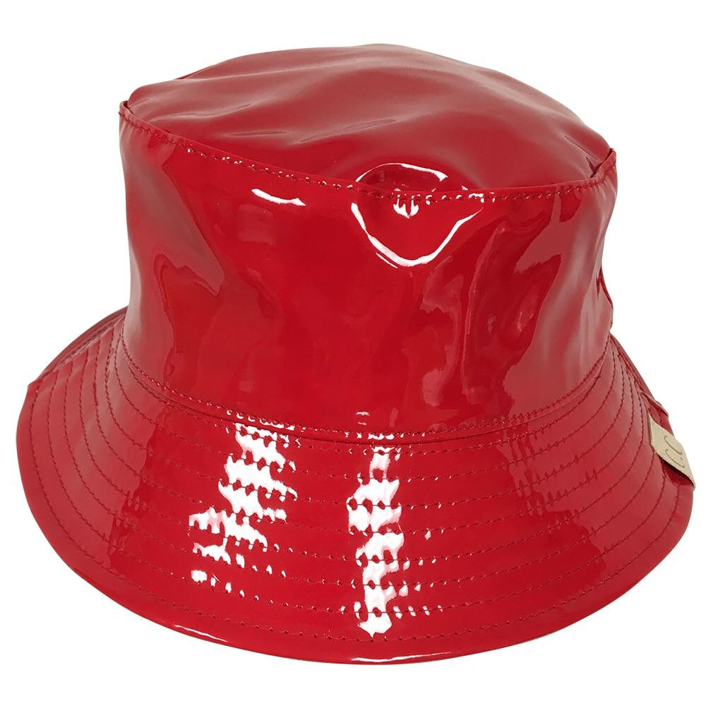 C.C Rain Bucket Hat Youth-Red