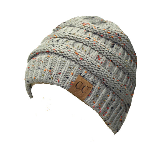 HAT33-Speckled Natural Gray