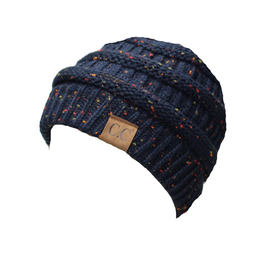 HAT33-Speckled Navy