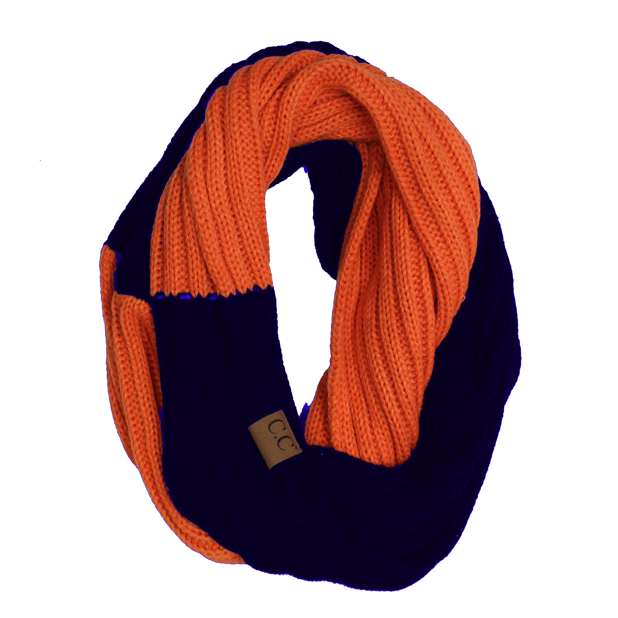 SF-56 Orange and Navy Team Infinty Scarf