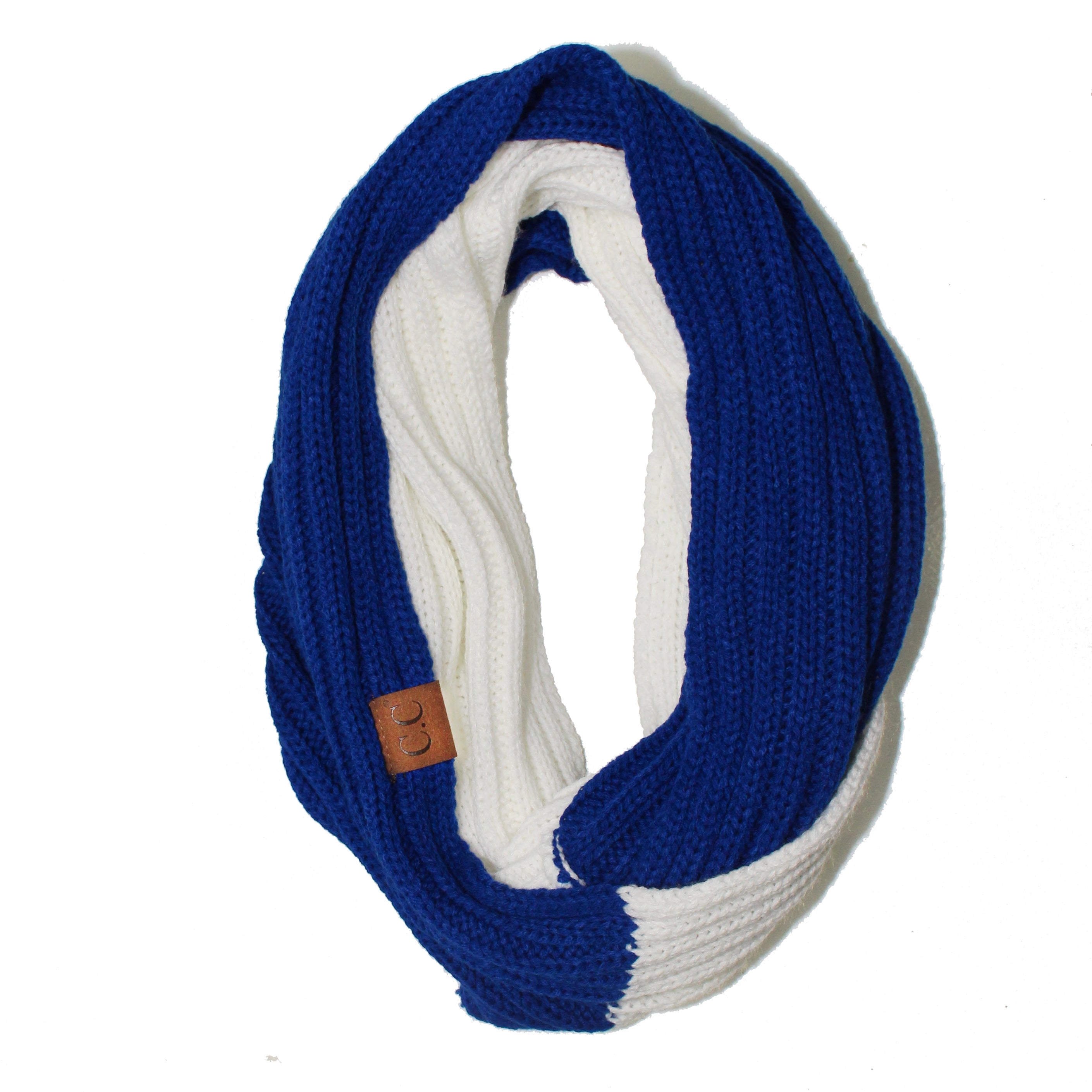 SF-56 Royal and White Team Infinty Scarf