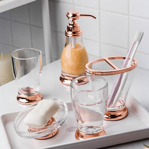 Clearblank Bathroom Accessories Set
