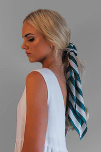 STRIPE SCARF - EMERALD
