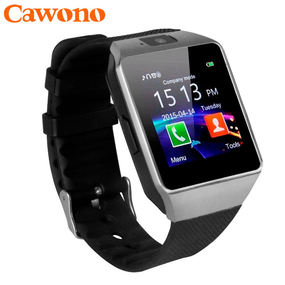 Android Smart Watch (Bluetooth, 2G GSM, Camera, Fitness tracker, Passometer,Alarm)
