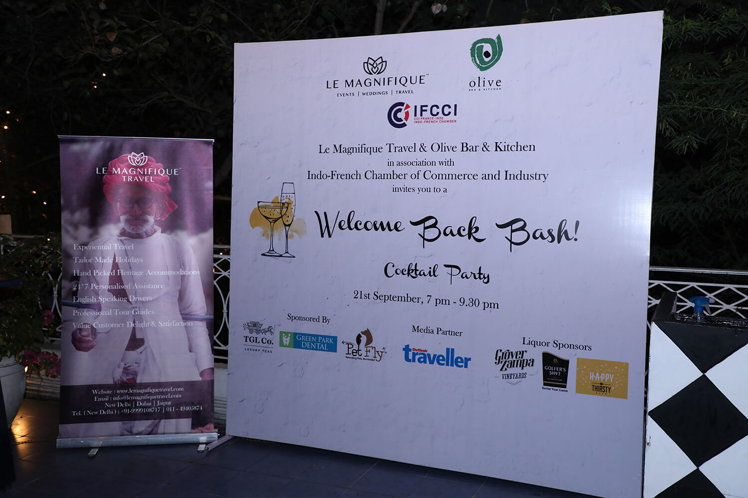 TGL Co. at Le Magnifique Expat Event - Delhi