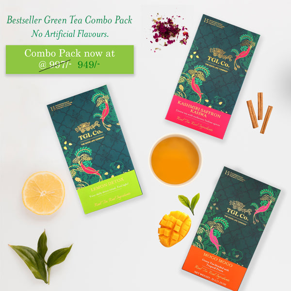 Bestseller Green Tea Combo