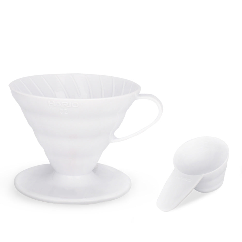 TGL Co. Hario V60 White Coffee Dripper 02
