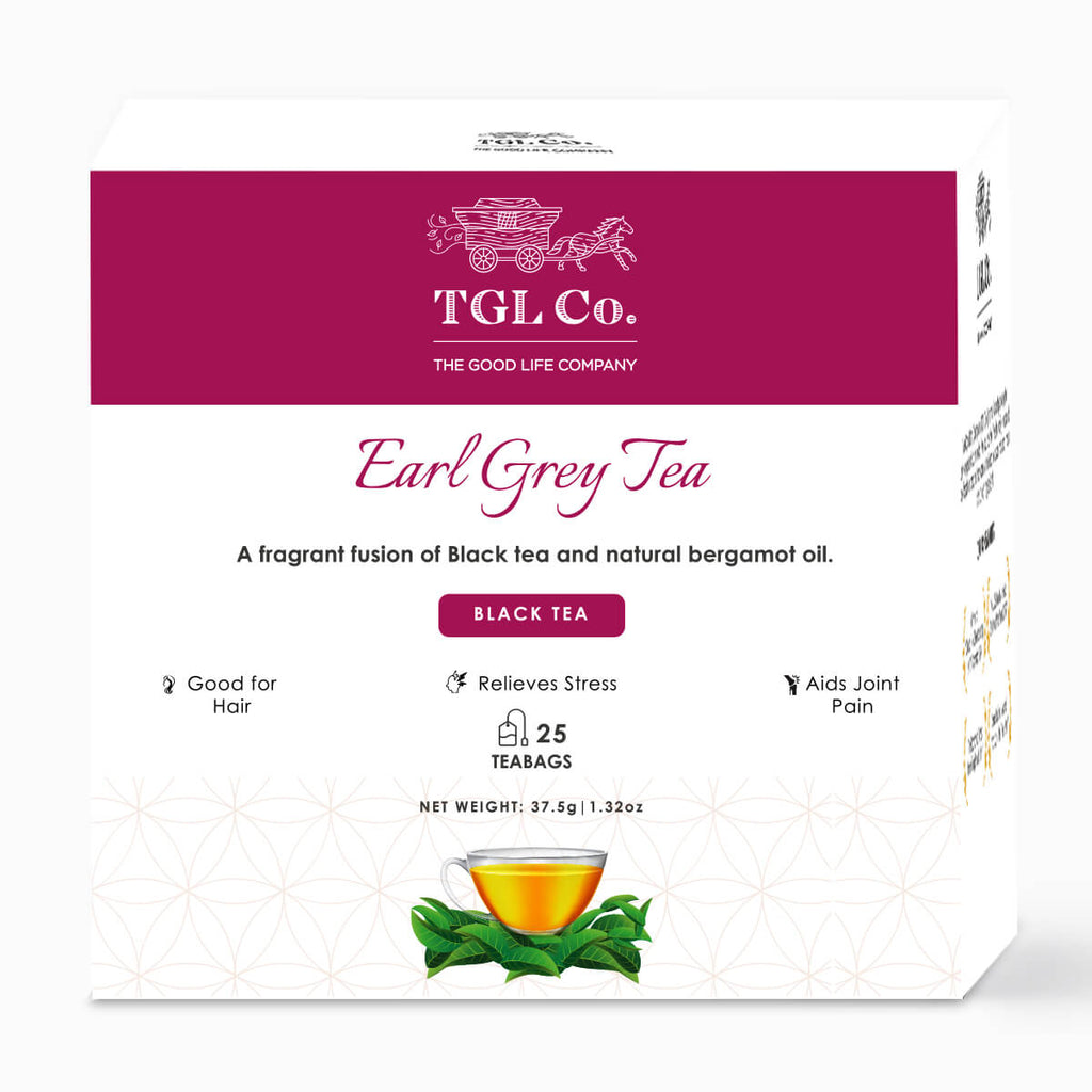 Earl Grey Black Tea - Pack of 25