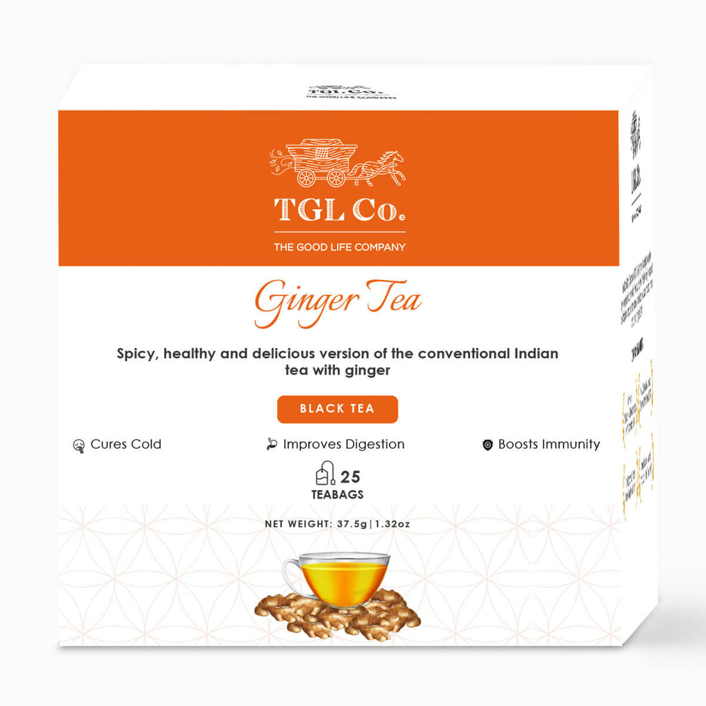 Ginger Black Tea - Pack of 25