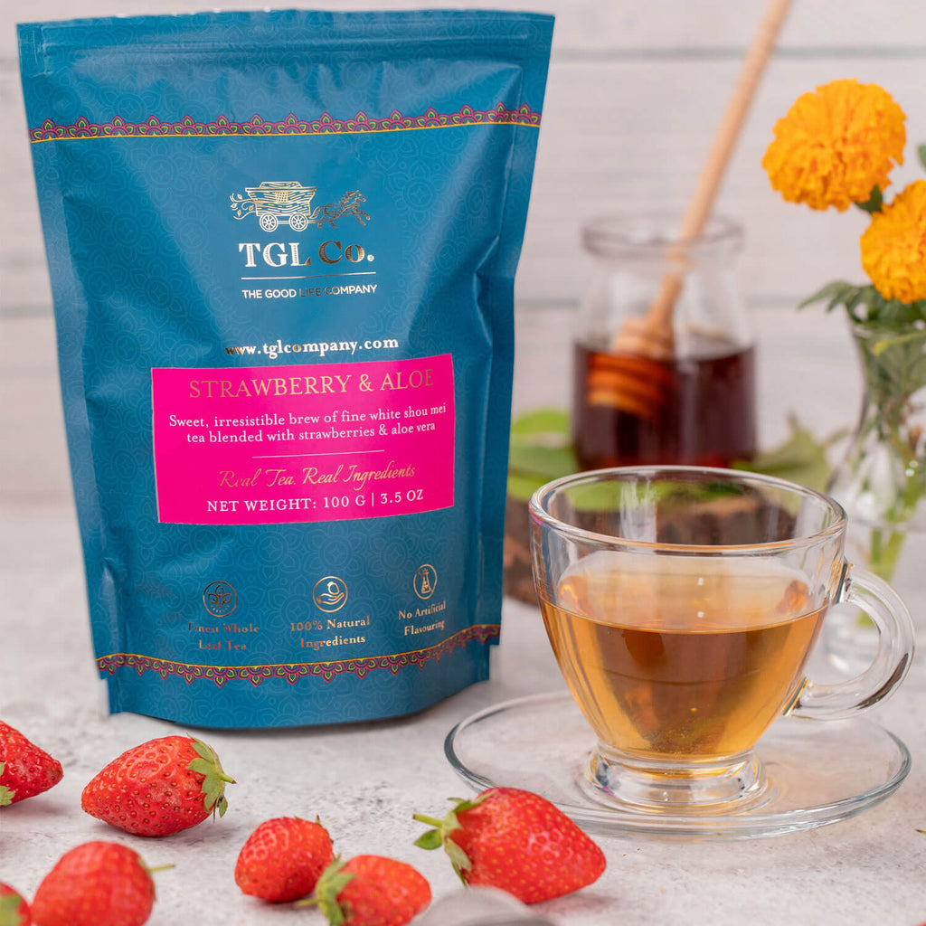 TGL Co. Strawberry and Aloe White Tea