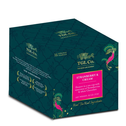 TGL Co. Strawberry & Cream Black Tea