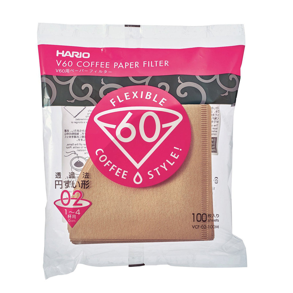 TGL Co. Hario V60 Filter Papers - Brown