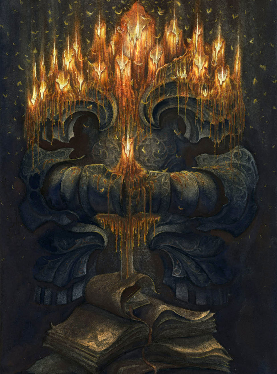 THE CANDELABRO - ORIGINAL PAINTING