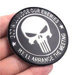 Awesome Aluminum Punisher Decal (2 pack)