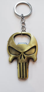 Awesome Metal Punisher Keychain Bottle Opener