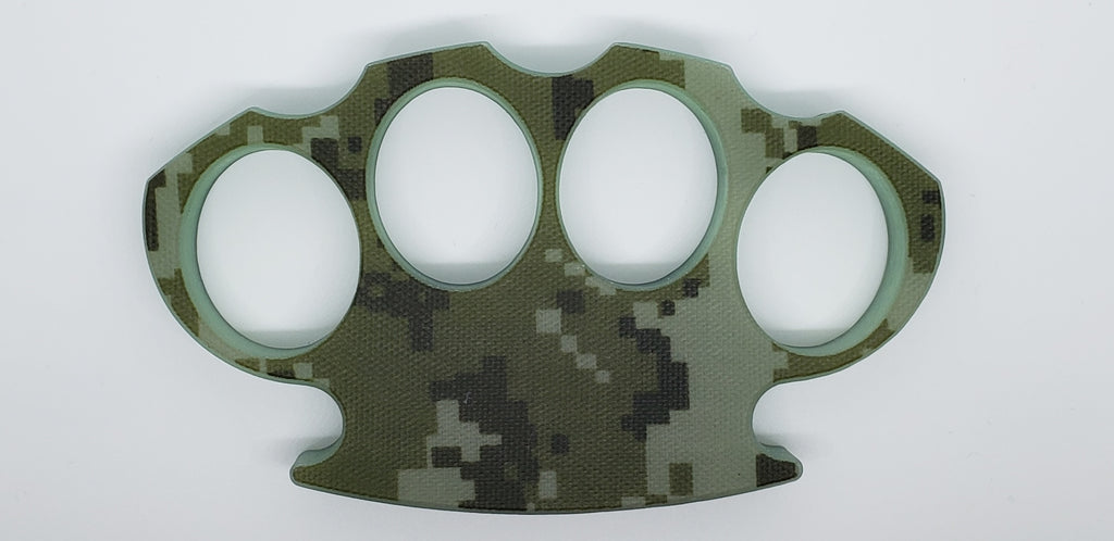 AWESOME Digital Camo Knuckle dusters ... Super Tough !   100% Legal In Canada
