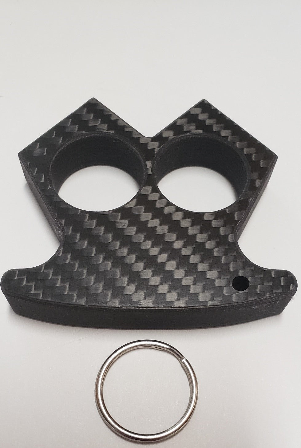 THE EQUALIZER New two finger carbon fiber knuckle duster  (limited stock)