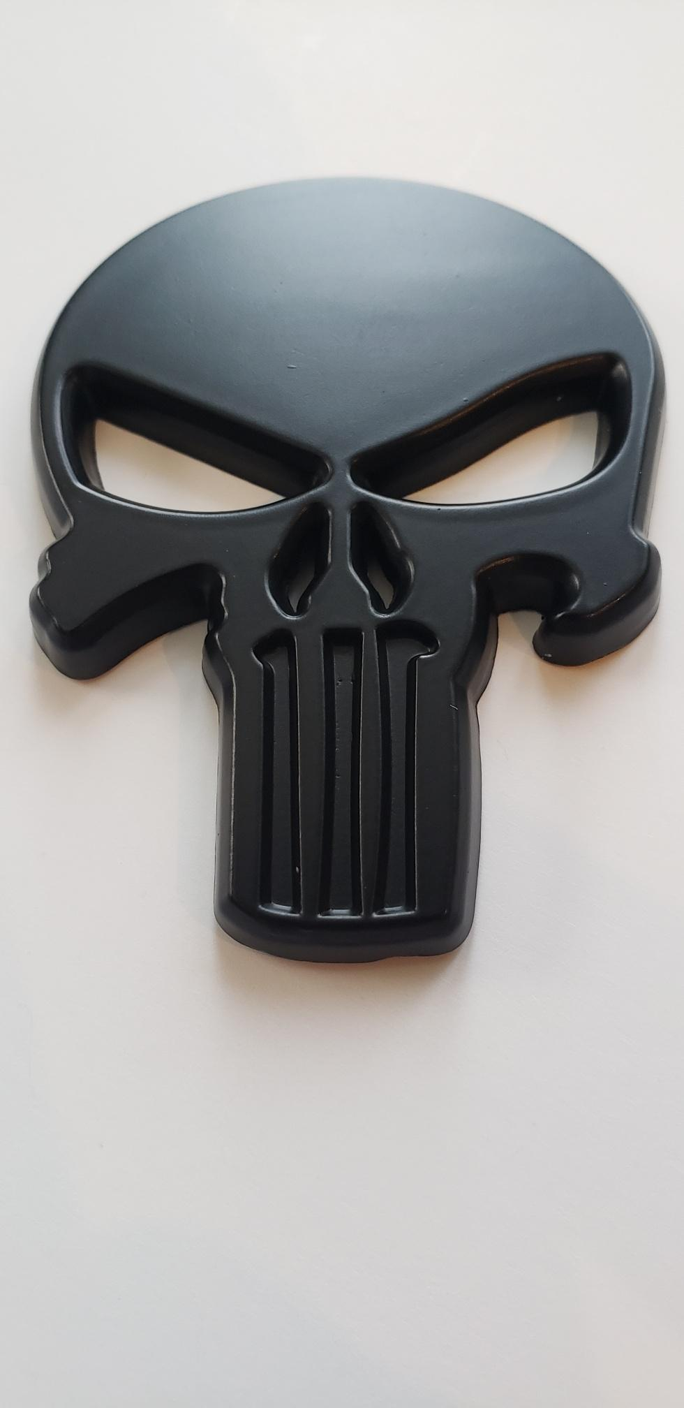 Cool Metal Punisher Decal.