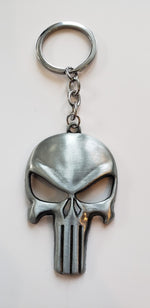 Awesome Metal Punisher Keychain